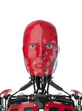Portrait de cyborg illustration de vecteur