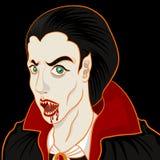 Portrait de Dracula Photo libre de droits