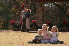 Portrait de famille image libre de droits
