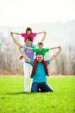 Portrait de famille Images libres de droits