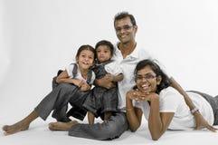 Portrait de famille Photo libre de droits