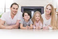 Portrait de famille Photos stock