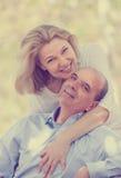 Portrait de famille de sourire mûre Images stock