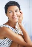 Femme âgée beau par milieu Photographie stock libre de droits