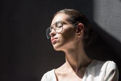 portrait de femme élégante tendre attirante Photographie stock