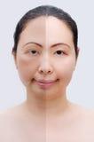 Les masques pour les yeux pour la restitution de la vue