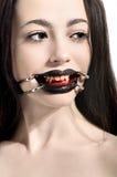 Portrait de femme avec le maquillage créatif photo libre de droits