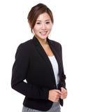 Portrait de femme d'affaires Image libre de droits