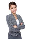 Portrait de femme d'affaires photographie stock libre de droits