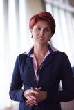 Portrait de femme d'affaires Images stock