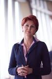 Portrait de femme d'affaires Photo stock
