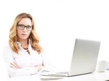 Portrait de femme d'affaires mûres Image stock