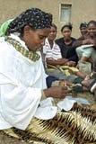 Portrait de femme d'association de microcredit Images libres de droits
