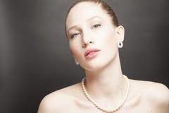 Portrait de femme de beauté image stock