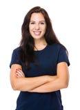 Portrait de femme de brune photos libres de droits