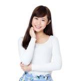 Portrait de femme de l'Asie image stock