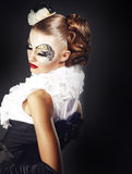 Art de visage photographie stock