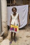 Portrait de femme supérieure de sourire La Havane Photo libre de droits