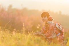 Portrait de femme traditionnelle japonaise Images stock