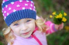 Portrait de fille Photographie stock