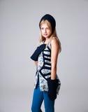 Portrait de fille attirante de mode photos stock