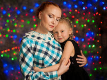 Portrait de fille et de femme Photographie stock