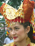 Portrait de fille indonésienne Photographie stock libre de droits
