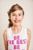 Portrait de filles gaies Photos stock
