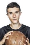 Portrait de footballeur Image libre de droits