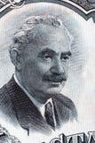 Portrait de Georgi Dimitrov Mikhaylov d'argent bulgare Images libres de droits