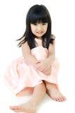 Portrait de gril mignon asiatique Image libre de droits