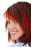Portrait de gril roux photos stock