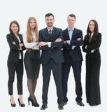 Portrait de groupe d'équipe réussie d'affaires Photos stock