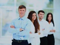 Portrait de groupe d'une équipe professionnelle d'affaires Photographie stock libre de droits