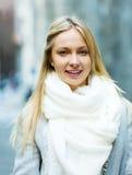 Portrait de jeune belle femme Photos libres de droits