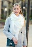 Portrait de jeune belle femme Images libres de droits