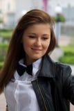 Portrait de jeune femme Photos stock
