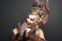 Portrait de jeune femme Image stock