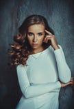 Portrait de jeune femme Images libres de droits