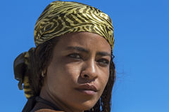 Portrait de jeune femme arabe Images libres de droits