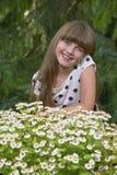 Portrait de jeune fille Image stock