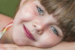Portrait de jeune fille Photographie stock