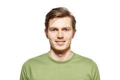 Portrait de jeune homme Images libres de droits