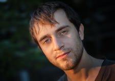 Portrait de jeune homme image libre de droits