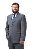 Portrait de jeune homme d'affaires bel photos libres de droits