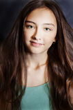 Portrait de jeune jolie fille. Photos libres de droits