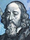 Portrait de John Amos Comenius Photographie stock libre de droits