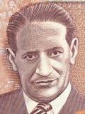 Portrait de Jorge Eliecer Gaitan Photo libre de droits