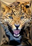 Portrait de léopard Images stock