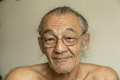 Portrait de l'aîné Photos stock